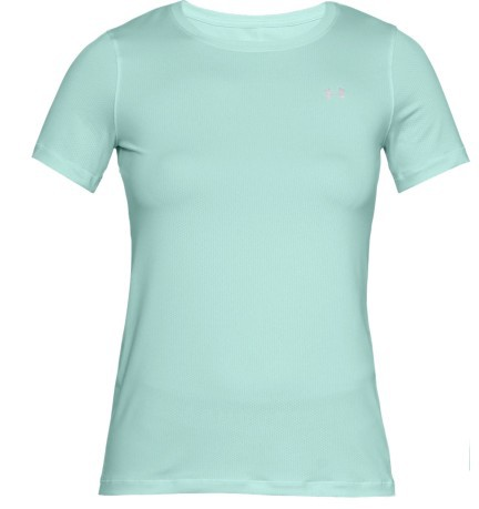 T-Shirt Donna HeatGear® Armour fronte bianco 2