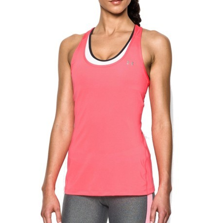 d934009c22c70 Tank Top Women s HeatGear® Armour Racer colore Pink - Under Armour ...