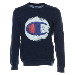 Men's sweatshirt Indigo blue