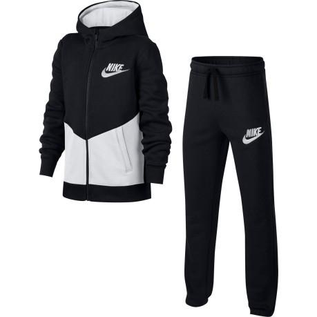 a0796cd5bae21 Baby Tracksuit Sportwear colore Black White - Nike - SportIT.com