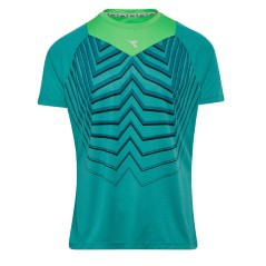 T-Shirt Running Uomo Bright verde