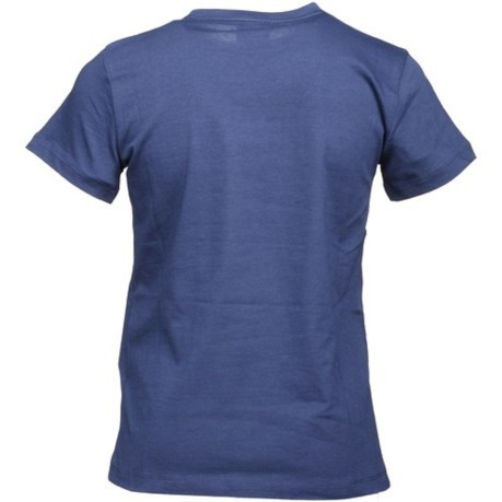 T-Shirt Bambino Training Sport Graphic fronte blu