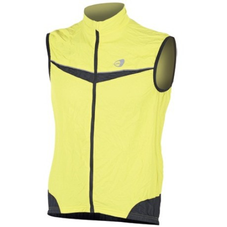 Gilet per il Running in polyester
