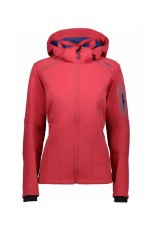 Jacket Trekking Woman Light Softshell pink