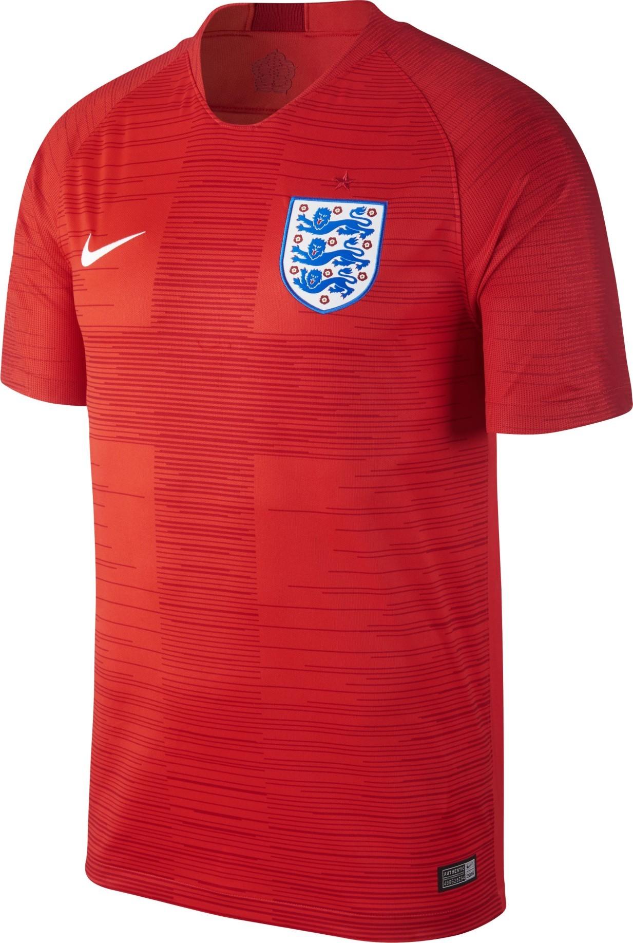 f2e72deb7 Jersey England Away 2018 colore Red - Nike - SportIT.com