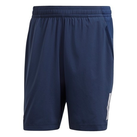 Short Uomo Club 3 Stripes fronte blu