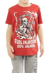 Baby T-Shirt Red front