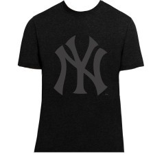 T-Shirt M.C. Club Black On Black NY Yankees