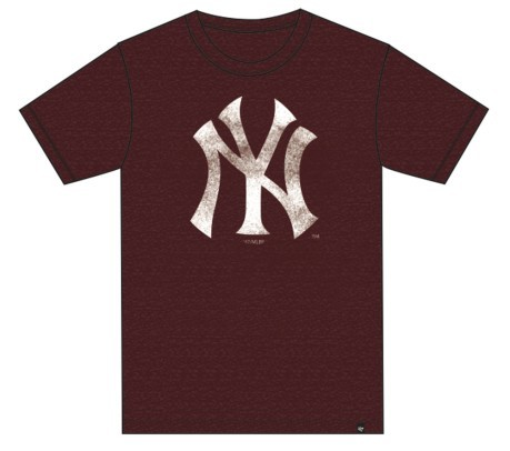 T-Shirt M.C. Club New York Yankees blu