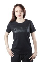 T-Shirt Donna Steetnic fronte nero
