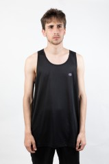 Tank top Herren Athletic Micro Tank vorne schwarz