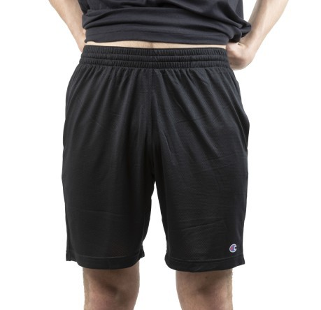 Short Uomo Athletic Micro nero fronte