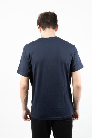 T-Shirt Uomo Light blu fronte