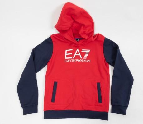 Color Ea7 Rosso Bambino Colore Tuta Training Blu FREqYYx