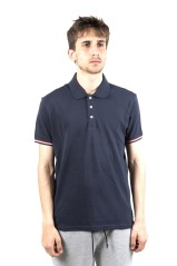 Polo Uomo Easy Fit blu fronte