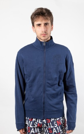 Felpa Uomo Loweel Sweat Full Zip fronte