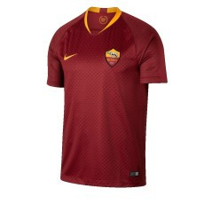 Jersey Roma Home 18/19 yellow red