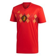 Jersey Belgium Home 2018 red