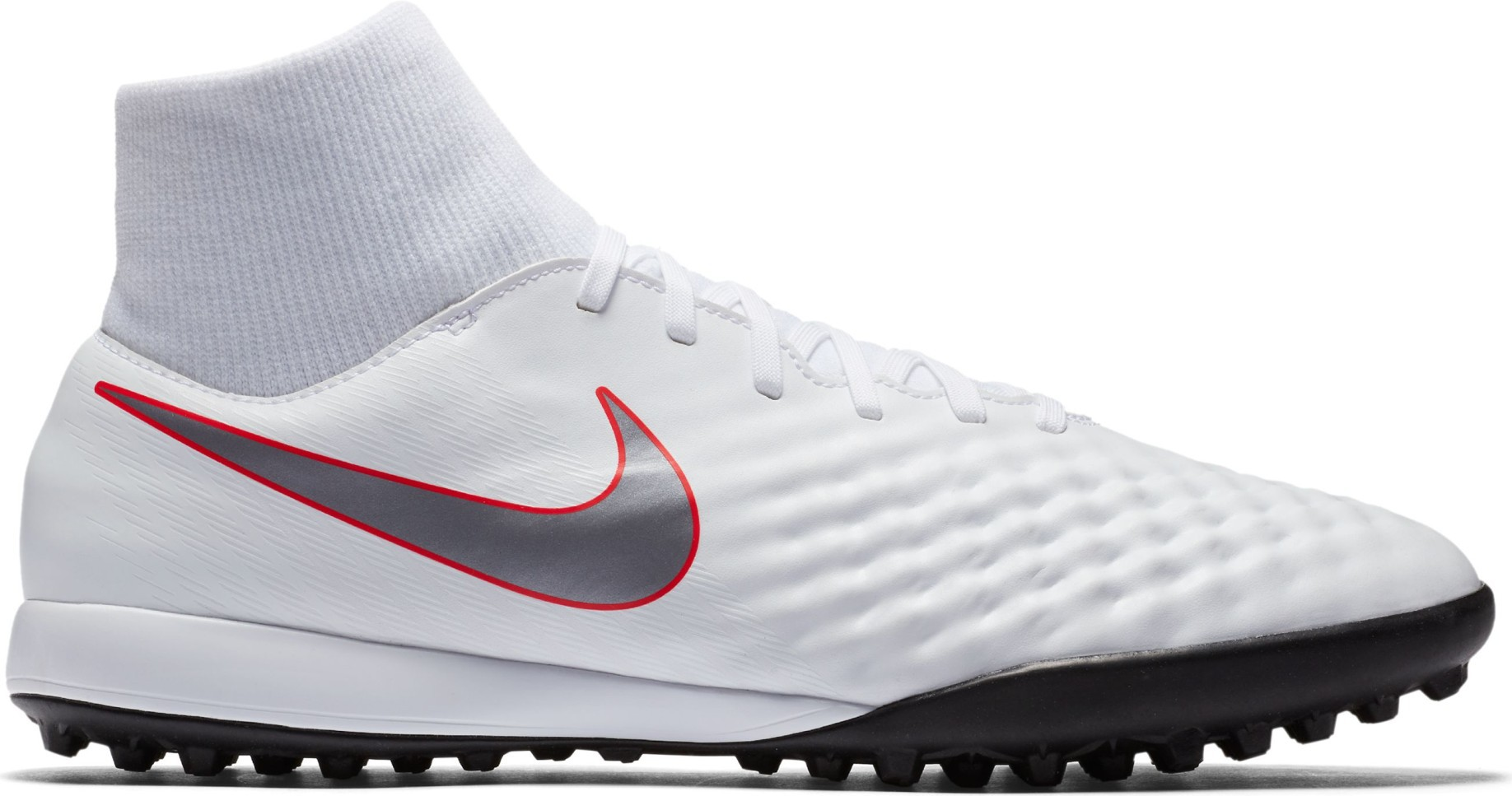 f2c9f636e3 Shoes Soccer Nike Magista ObraX Academy DF TF Just Do It Pack colore White  Red - Nike - SportIT.com