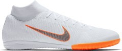 Scarpe Calcetto Indoor Nike Mercurial SuperflyX Academy IC bianche