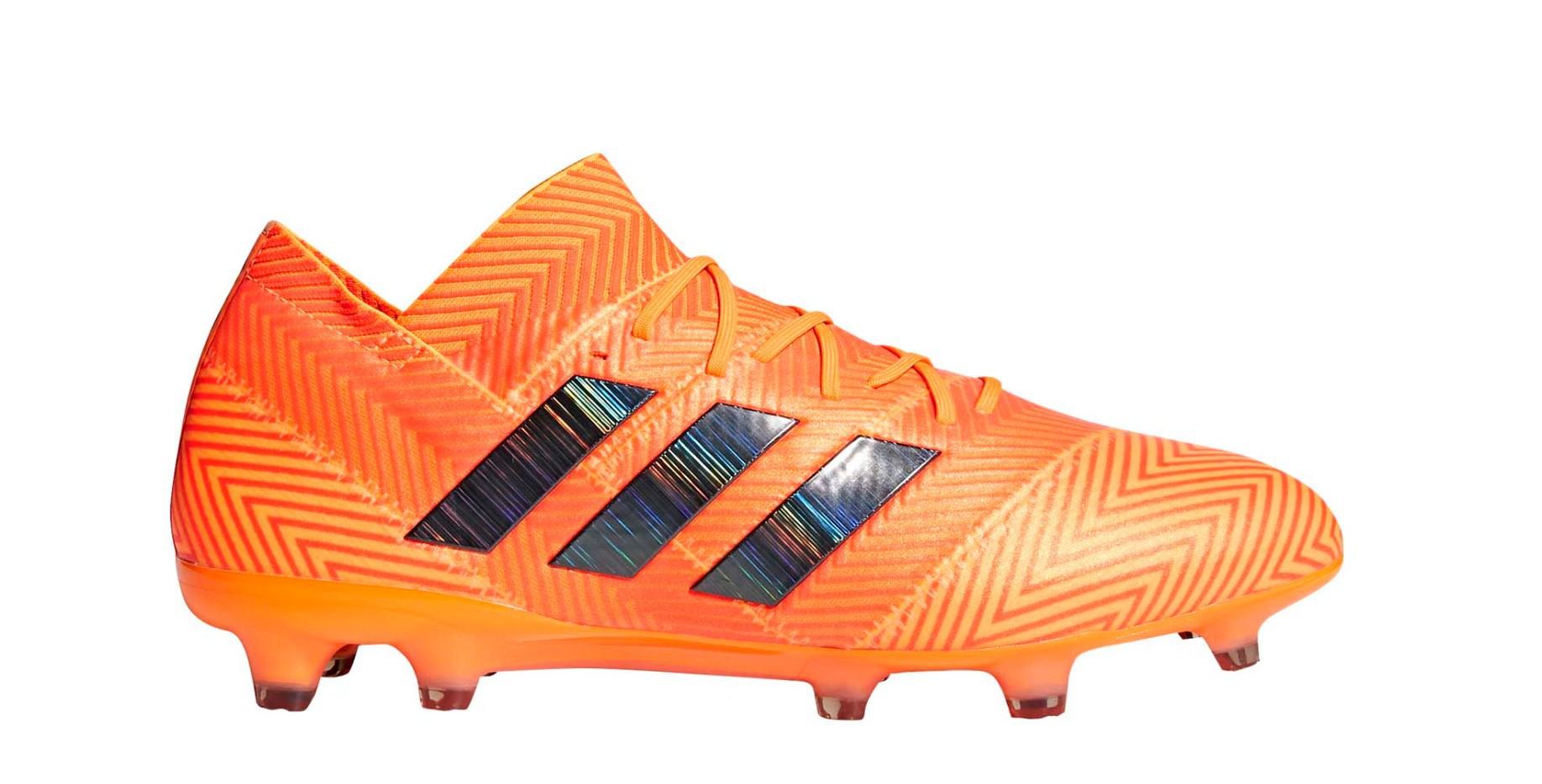 new style ebcba 1a1df Scarpe Calcio Adidas Nemeziz 18.1 FG Energy Mode Pack colore Arancio -  Adidas - SportIT.com