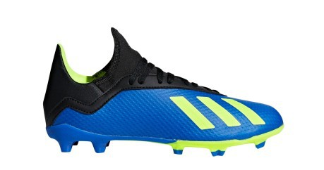 dee65d113ed94 Football boots Kid Adidas X 18.3 FG Energy Mode Pack colore Blue ...