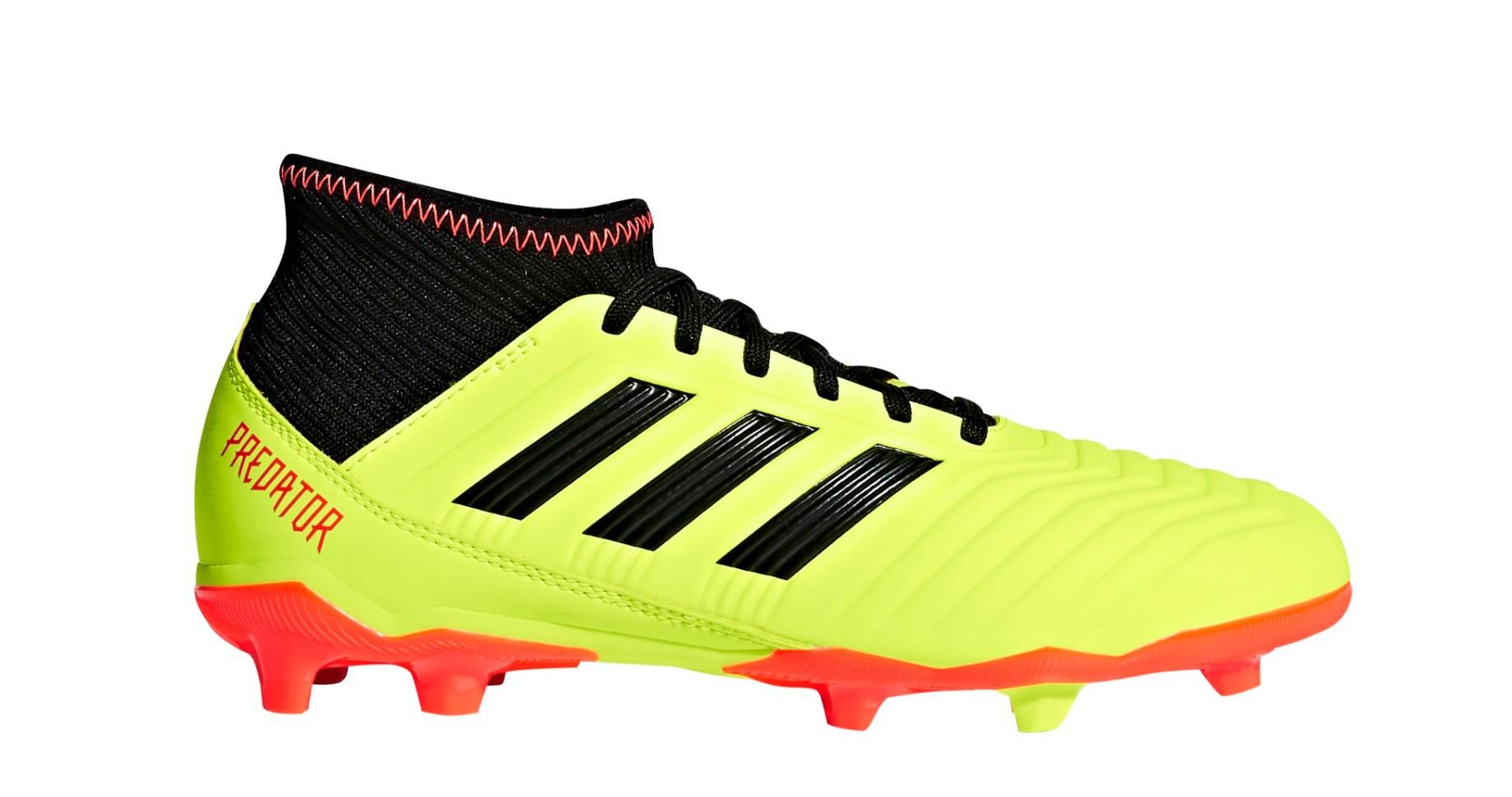 Soccer shoes Boy Adidas Predator 18.3 FG Energy Mode Pack colore Yellow Red  - Adidas - SportIT.com 35ee9f72e113f