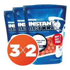Boilies Instant Action Monster Crab 20mm 3X2