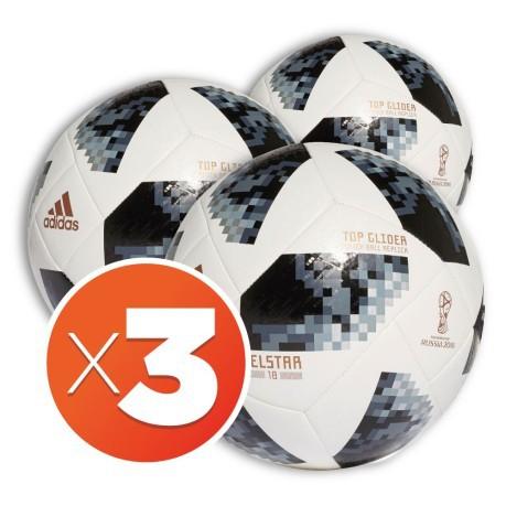Combo Fussballe Adidas Fussball Telstar World Cup Glider