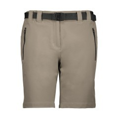 Bermuda Trekking Woman Stretch +6 beige