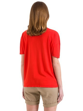 T-Shirt Donna Graphic fronte rosso
