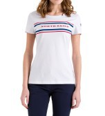 T-Shirt Donna Logo fronte bianco