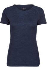 T-Shirt Hiking Women's Technique +6 blue