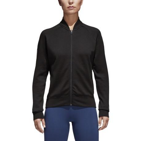 veste noir adidas femme