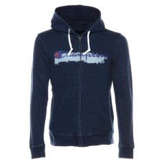 Men's Sweatshirt Full Zip Indigo