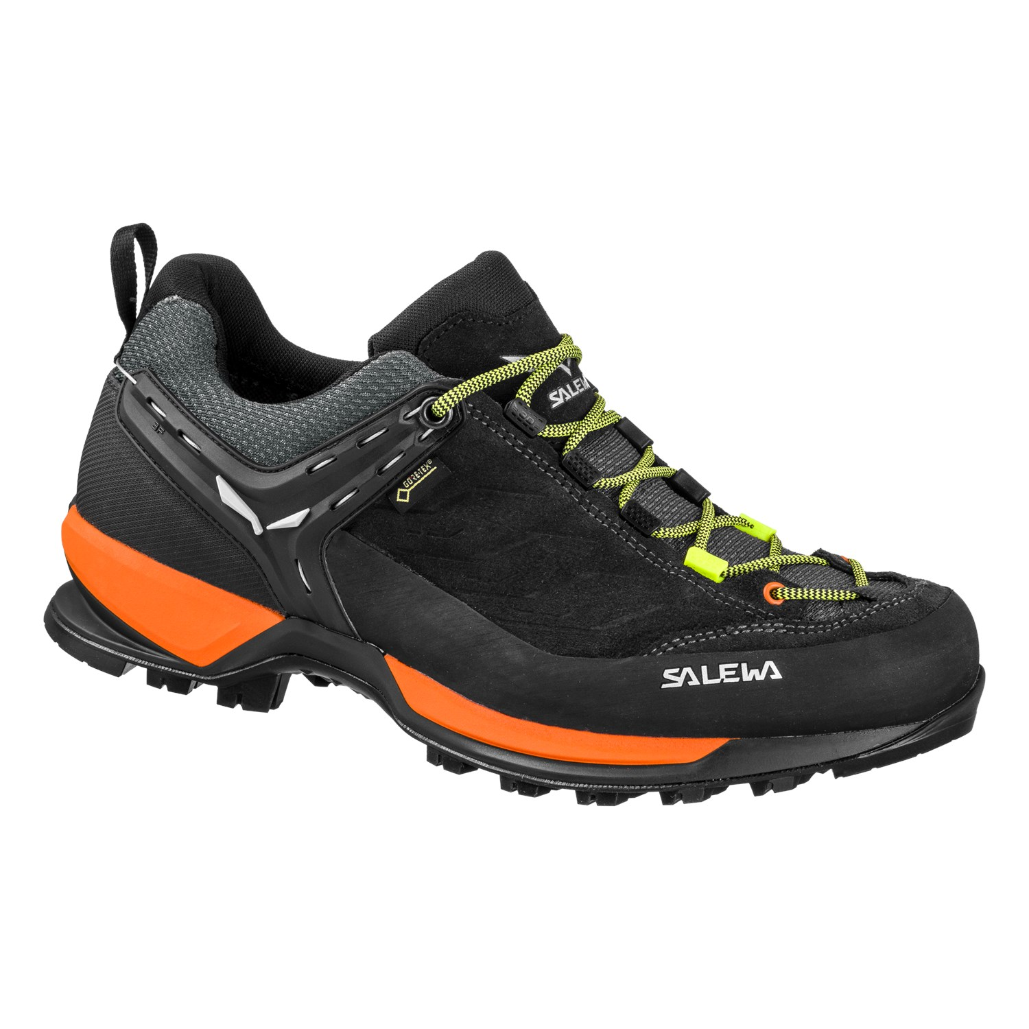 Mens shoes Mountain Trainer GORE-TEX colore Black Orange - Salewa ... 0ed6b0586