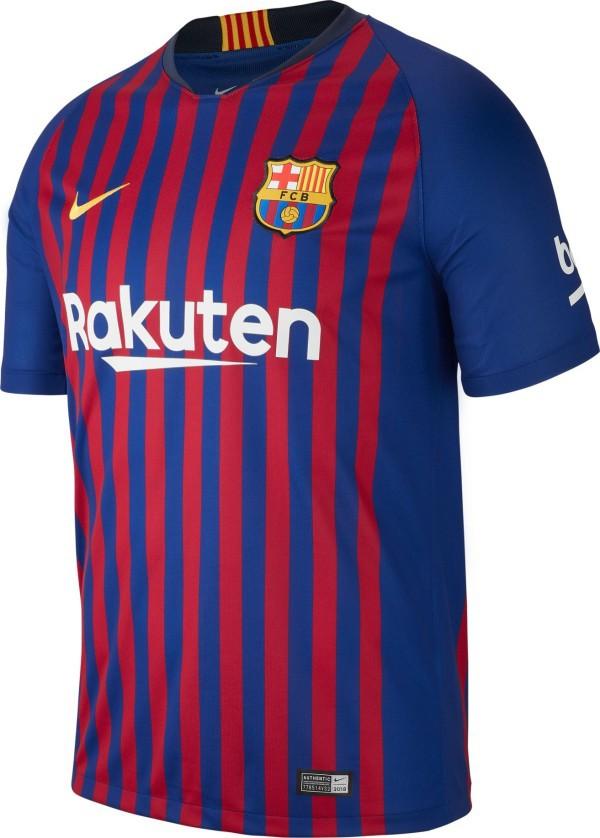 Maglia Colore Barcellona Blu 1819 Home Nike Rosso rC8vrq