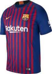 Maillot de Football Barcelone domicile 18/19 bleu rouge