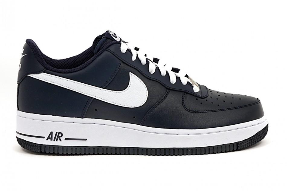 san francisco 333cd 8d0af Mens shoes Air Force 1 colore Blue White - Nike - SportIT.co