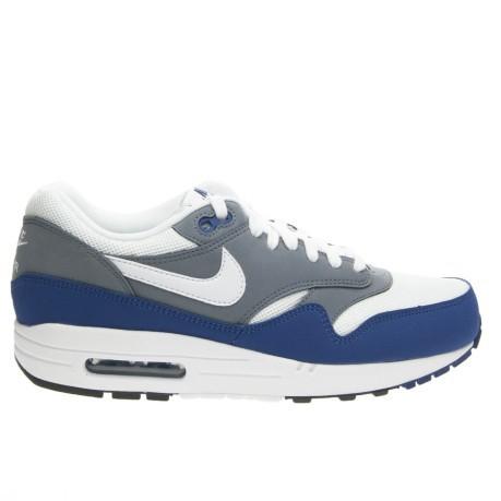 Scarpe uomo Air Max 1 Essential colore Bianco Blu Nike SportIT