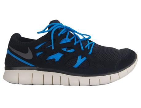 Zapatillas de los hombres Nike Free Run 2 colore azul azul Nike