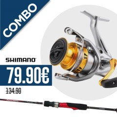 Combo Spinning Forcemaster Trout Area 195UL