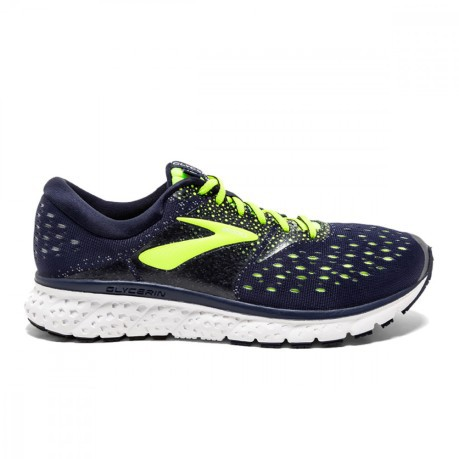 Leonardoda George Bernard in secondo luogo  Mens Running Shoes Glycerin 16 A3 Neutral colore Blue Yellow - Brooks -  SportIT.com