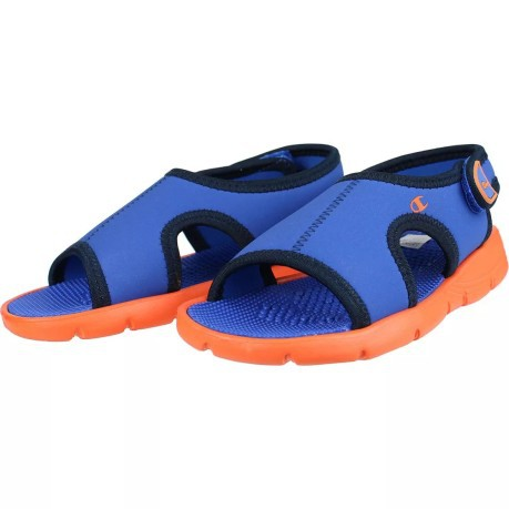 cb858766118fa4 Sandals Child Olly Neo colore Blue Orange - Champion - SportIT.com