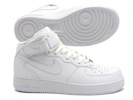 best service 874e8 922e0 Mens shoes AIR FORCE 1 MID 07 colore White - Nike - SportIT.com
