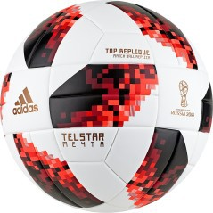 Pallone Calcio Adidas Teslar World Cup KO Top Replique fronte