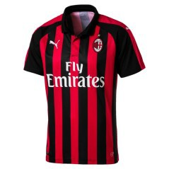 Maglia Milan Home Authentic 18/19 fronte