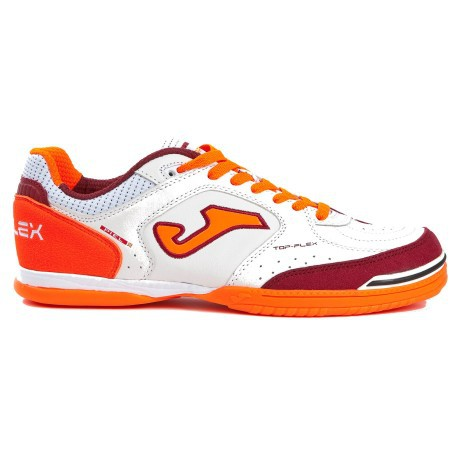 d82448efba966 Shoes Indoor Football Joma Top Flex colore White Orange - Joma ...