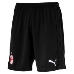 Shorts Milan Home 18/19 bianco rosso fronte