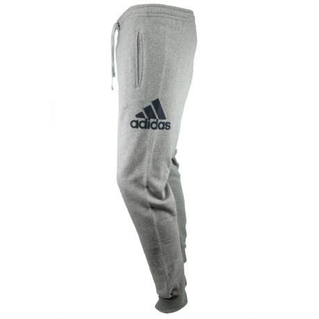 adidas pantaloni tuta uomo grigio